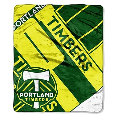 Northwest Co. MLS Timbers Scramble Polyester Throw