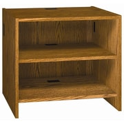 Ironwood Glacier Small Adjustable 32.25'' H Shelving Unit; Oiled Cherry