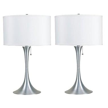 Latitude Run Roi Retro 27'' Table Lamp (Set of 2)