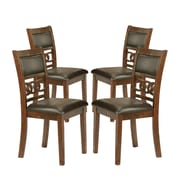 Crown Mark Cally Upholstered Dining Chair (Set of 4)