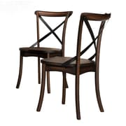 Crown Mark Farris Solid Wood Dining Chair (Set of 2)