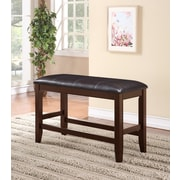 Crown Mark Fulton Counter Height Bench