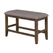 Crown Mark Manning Counter Height Bench