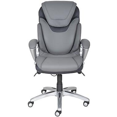 Serta at Home Serta Works Office Ergonomic Executive Chair; Mindset Gray