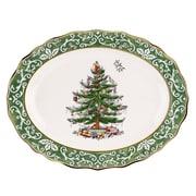 Spode Christmas Tree Embossed Platter