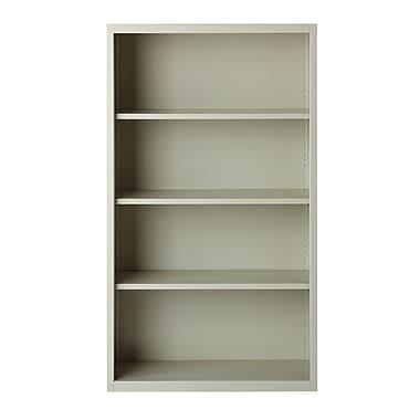 Red Barrel Studio Germano 60'' Standard Bookcase; Light Gray