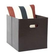 Rebrilliant Leather Storage Bin