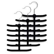 Rebrilliant Velvet Tie Hanger (Set of 3)