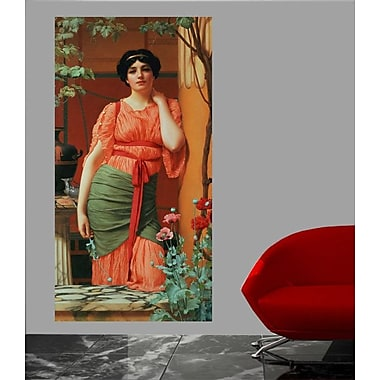 Winston Porter 'Nerissa' by John William Godward Graphic Art Print Poster; 36'' H x 18.5'' W