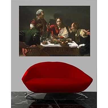 Winston Porter 'The Supper at Emmaus' Oil Painting Print Poster; 42.5'' H x 60'' W