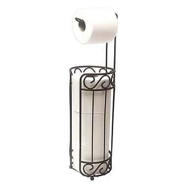 Sweet Home Collection Scroll Freestanding Toilet Paper Holder