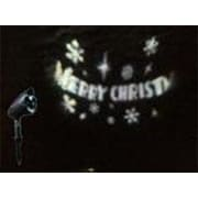 The Holiday Aisle Let it Snow LED Merry Christmas Projector