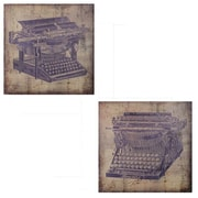 Williston Forge Traditional 2 Piece Typewriter Wall D cor Set