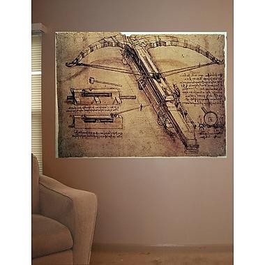Winston Porter 'Design for a Giant Crossbow' by Leonardo Da Vinci Graphic Art Print Poster