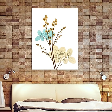 August Grove 'Desert Bloom 1' Graphic Art Print on Wrapped Canvas; 40'' H x 30'' W