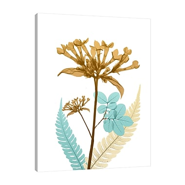 August Grove 'Desert Bloom 3' Graphic Art Print on Wrapped Canvas; 40'' H x 30'' W