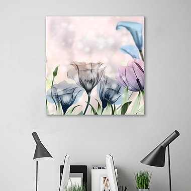 August Grove 'Garden of Wonders 3' Graphic Art Print on Wrapped Canvas; 18'' H x 18'' W