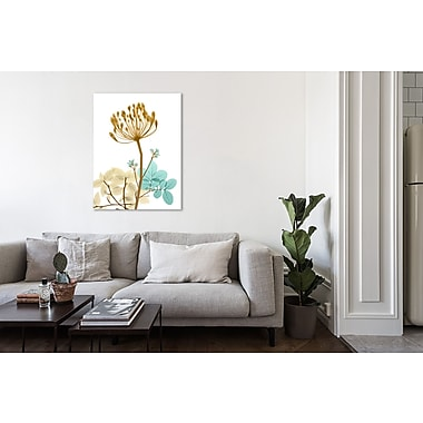 August Grove 'Desert Bloom 2' Graphic Art Print on Wrapped Canvas; 48'' H x 36'' W