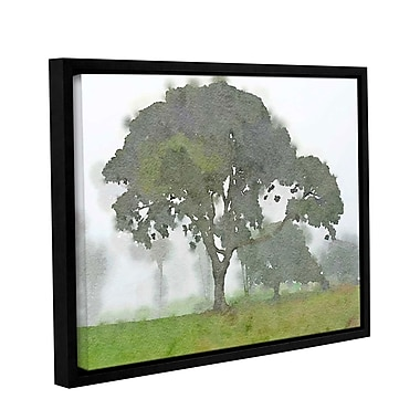 Alcott Hill 'In the Morning 7' Framed Print on Canvas; 18'' H x 24'' W x 2'' D