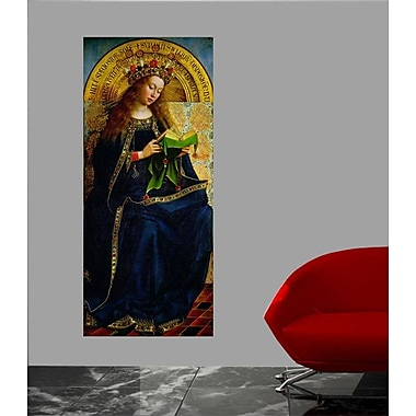 Winston Porter 'The Ghent Altarpiece' Oil Painting Print Poster; 24'' H x 10.5'' W
