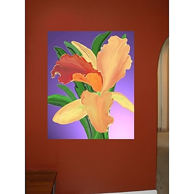 Winston Porter 'Bantham Orchid' Graphic Art Print Poster; 48'' H x 33'' W