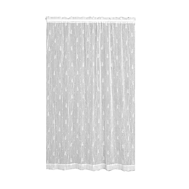 Bayou Breeze Deija Rod Pocket Single Curtain Panel; 45''W x 63''L