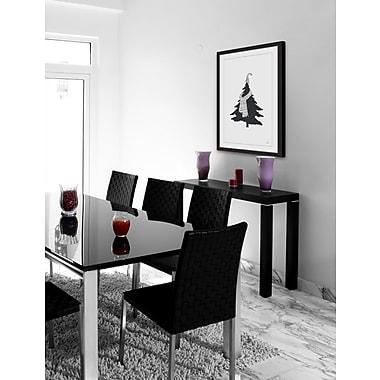 Brayden Studio 'Cozy Tree' Framed Print; 60'' H x 40'' W x 1.5'' D