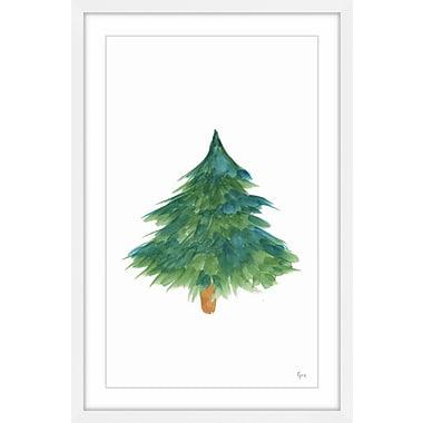Brayden Studio 'Before Christmas II' Framed Painting Print; 16'' W x 24'' H x 1.5'' D