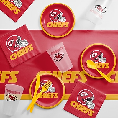 Creative Converting NFL Tailgating 56 Piece Dinner