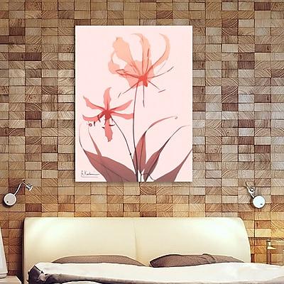 Ebern Designs 'Furiosa Lily' Graphic Art Print on Wrapped Canvas; 32'' H x 24'' W