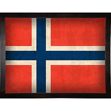 East Urban Home 'Norway' Graphic Art Print; Paper