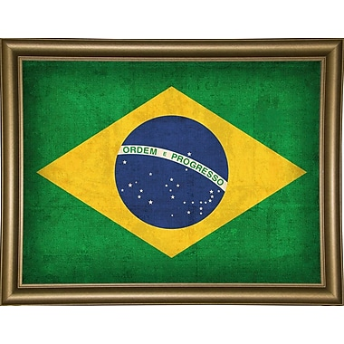 East Urban Home 'Brazil' Graphic Art Print; Canvas