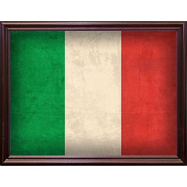 East Urban Home 'Italy' Graphic Art Print; Cherry Grande Framed