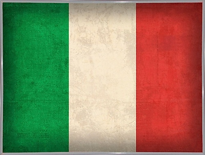 East Urban Home 'Italy' Graphic Art Print; Metal White Framed