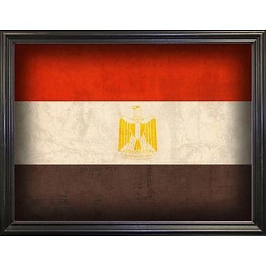 East Urban Home 'Egypt' Graphic Art Print; Black Grande Framed