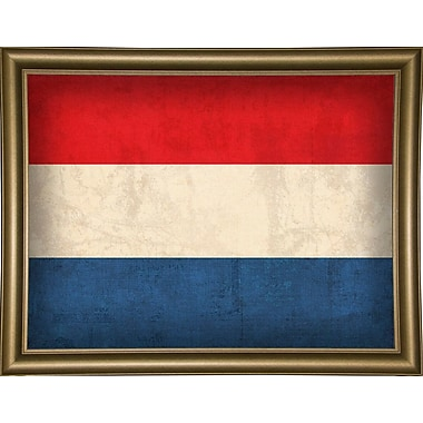 East Urban Home 'Netherlands' Graphic Art Print; Wrapped Canvas