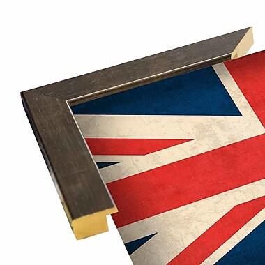 East Urban Home 'United Kingdom' Graphic Art Print; Wrapped Canvas