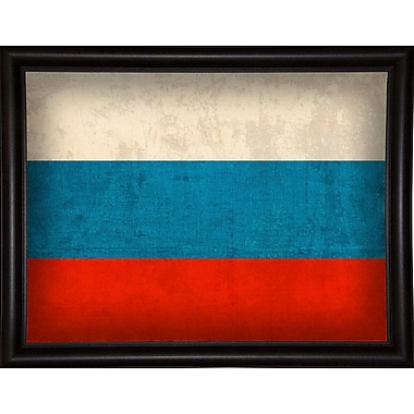 East Urban Home 'Russia' Graphic Art Print; Wrapped Canvas