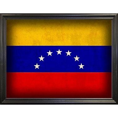 East Urban Home 'Venezuela' Graphic Art Print; Wrapped Canvas