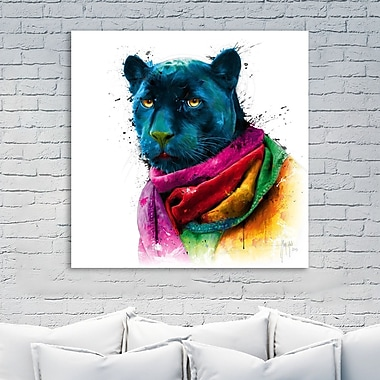 Latitude Run 'Panther' Graphic Art Print on Wrapped Canvas; 30'' H x 30'' W