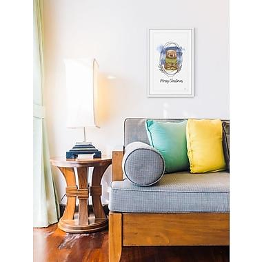 Harriet Bee 'Pine Tree Sawyer' Framed Painting Print; 30'' W x 45'' H x 1.5'' D