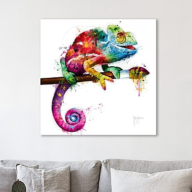 Latitude Run 'Pop Evolution' Graphic Art Print on Wrapped Canvas; 12'' H x 12'' W