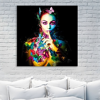 Latitude Run 'Queen of Dreams' Graphic Art Print on Wrapped Canvas; 48'' H x 48'' W