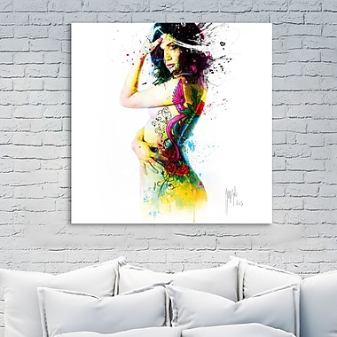 Latitude Run 'I Was an Angel' Graphic Art Print on Wrapped Canvas; 18'' H x 18'' W