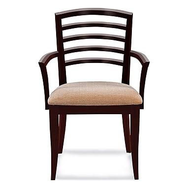 Latitude Run Sofian Arm Chair in Ramie; Java