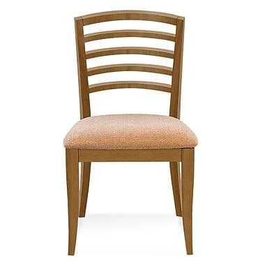 Latitude Run Sofian Side Chair in Cinder; Flax