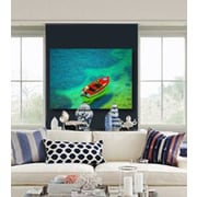 Serge De Troyer Collection 'Shallow Shores' Graphic Art Print on Glass; 40'' H x 60'' W
