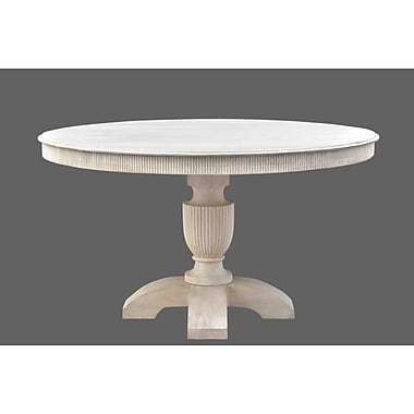 STYLE N LIVING Brasilia Round Dining Table; 30'' H x 54'' W x 54'' D