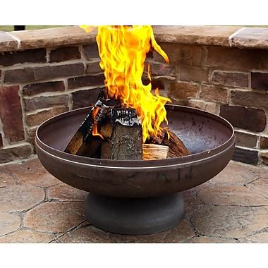Ohio Flame Steel Fire Pit; 18'' H x 36'' W x 36'' D