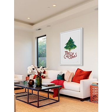 The Holiday Aisle 'The Perfect Tree' Framed Painting Print; 60'' H x 40'' W